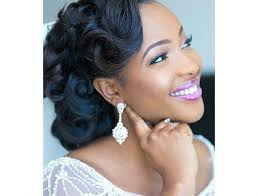 black women pin up hair do best wedding medium curly hairstyle for black women hair