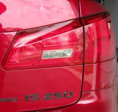 red lexus 2010 anyway eliminate 2010 rear tail light orange turn signal