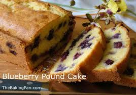 blueberry pound cake recipe thebakingpan com