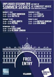 ava sessions somerset house unplugged sessions announced news clash magazine
