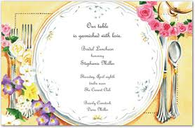 bridal lunch invitations bridal luncheon party invitations myexpression 5211