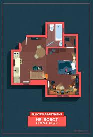 illustrations reveal the detailed floor plans of homes in beloved