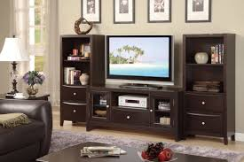 Contemporary Tv Table Contemporary Tv Stand With Glass Panel Side Storage Huntington