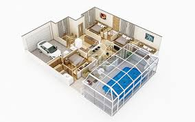 architectural floor plan 3d architectural floor plans rendering portfolio 3d floorplanner