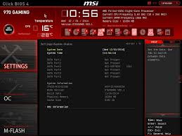 Cpu Info by Bios And Software Msi 970 Gaming Motherboard Review