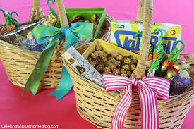 ideas for easter baskets for adults ideas for easter baskets celebrations at home