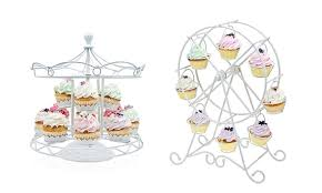cup cake holder godinger ferris cupcake holders groupon goods