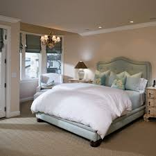 splendid french blue bedding bedroom beach style with brown carpet