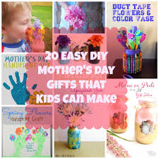 20 easy diy mother u0027s day gifts that kids can make
