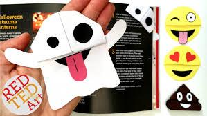 easy emoji bookmark diy ted s