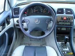 2001 Mercedes Benz Clk 430 Coupe Ash Blue Dashboard Photo