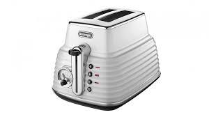 Deloghi Toaster Delonghi Scultura 2 Slices Toaster White Toasters Small