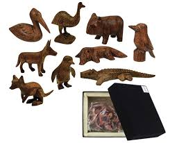 carved wooden animals wood carved animal set australian animals wood you like to