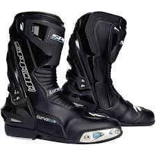 cheap waterproof motorcycle boots spada curve evo wp boots stealth free uk delivery