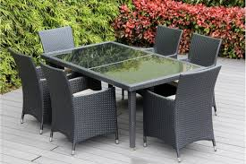 Patio Table 6 Chairs Beautiful Outdoor Patio Wicker Furniture Dining Set New