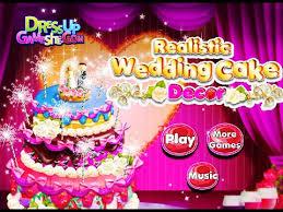 realistic wedding cake decor fun online design games for girls