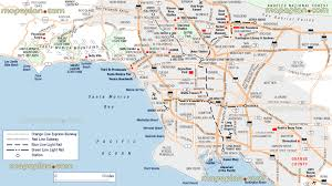 los angeles map pdf los angeles tourist attractions map indiana map