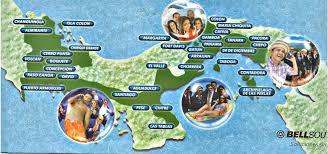 Panama City Map Panama Map