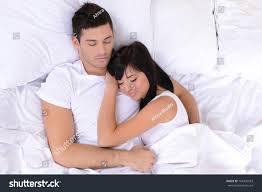 couple love sleeping bed stock photo 164433503 shutterstock couple in love sleeping in bed