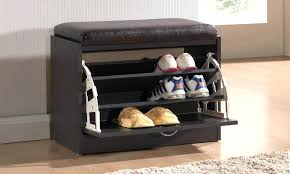 Shoe Storage Bench With Seat Entryway Bench With Shoe Storage With Small Storage Bench With