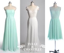 mint bridesmaid dresses tulle u0026 chantilly wedding blog