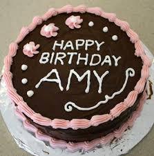 happy birthday cake write birthday cake