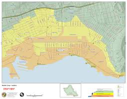 map of waikiki o ahu residents invited to view tsunami evacuation