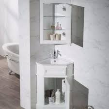 corner bathroom vanity table stufurhome 27 hton white corner bathroom vanity with medicine