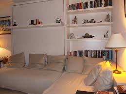enjoyable white painted open shelves for storage and bookcase over