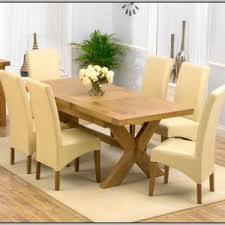 dining sets cream leather chairs chairs home decorating ideas