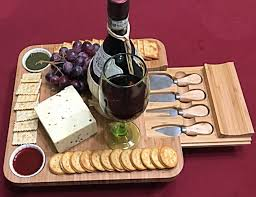 wine bottle serving tray ibamboomart cheese serving tray gadget flow