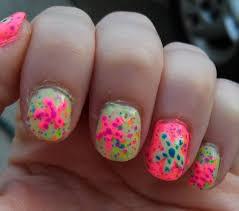 nail polish nail polish july nail art sea star nails