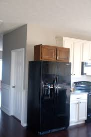 top of fridge storage love grows here built in refrigerator
