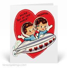 vintage valentines 1950s vintage cards val122 harrison greetings