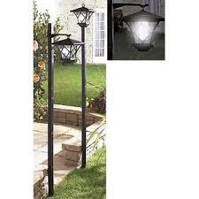 Outdoor Light Post Fixtures by Solar Powered Post Lights You U0027ll Love Wayfair