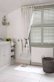 bathroom window treatments curtains and shutters popular