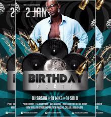 free birthday bash flyer templates 12 amazing birthday party psd