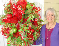 how to make a mesh wreath new deco mesh wreath ladybug wreaths by nancy