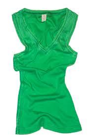 Shamrock Green Shamrock V Neck Tank Top Swim Rags Swimwear U0026 Apparel