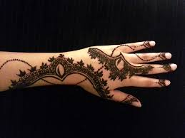 arabic simple henna latest mehndi design how to apply henna