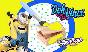 minion mini toy box diy dohvinci play doh craft shopkins microlite