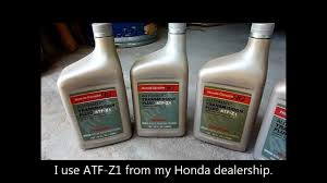 honda accord 2002 transmission fluid change v6 1998 1999 2000
