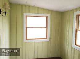 Covering Wood Paneling Painting Wood Paneling Brushes Rollers And Beer Rather Square