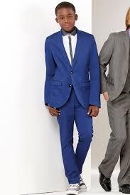 boys light blue dress pants 2016 notch lapel two buttons royal blue boy suits boy suits boy s
