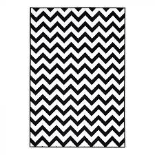 Esszimmer Design Schwarz Weis Kontraste Teppich Michalsky Greenwich Kunstfaser Schwarz Weiß 160 X