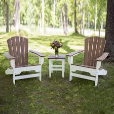 Breezesta Coastal Bar Chair by The Boca Raton Adirondack Set By Durogreen Outdoor Durogreen