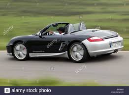 porsche boxster rear speedart porsche boxster model year 2005 black silver open top