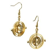 gold plated earrings time turner trade gold plated earrings by noble collection