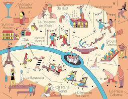 Top Spot Maps Elena Xausa La Parisienne On Behance
