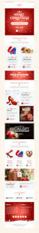 christmas shopping offers e commerce newsletter by kalanidhithemes